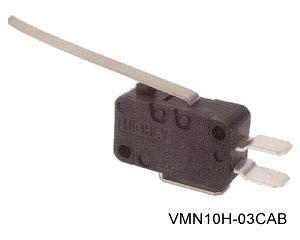 VMN10H-03CAB törpeméretű mikrokapcsoló