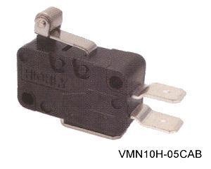 VMN10H-05CAB törpeméretű mikrokapcsoló
