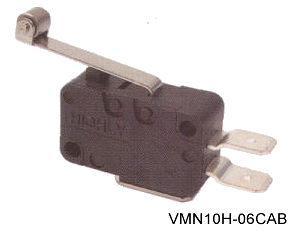 VMN10H-06CAB törpeméretű mikrokapcsoló