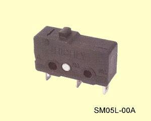 SM05L-00A Miniatűr mikrokapcsoló