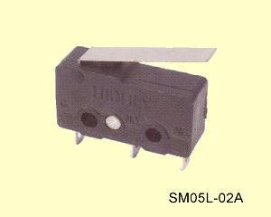 SM05L-02A Miniatűr mikrokapcsoló