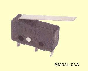 SM05L-03A Miniatűr mikrokapcsoló