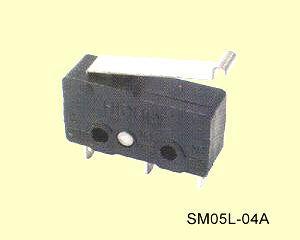 SM05L-04A Miniatűr mikrokapcsoló